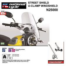 HARLEY FXDWG DYNA WIDE GLIDE 1993-05 NATIONAL CYCLE STREET SHIELD N25000