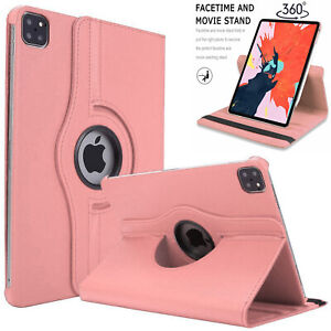 360 Rotating Stand leather Case Cover For Apple iPad Air 4 & Apple iPad Pro 11