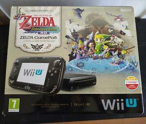 Wii U Premium Pack Legend Of Zelda - PAL Spain Version