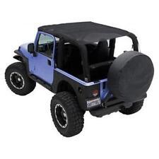Jeep Wrangler JK Mesh Extended Soft Top 2007-2009 2 Door Black Smittlybilt 94100