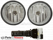 Genuine Nissan Titan Fog Lights 2004-2015 Without Automatic Headlights NEW OEM