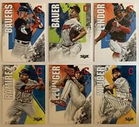 2019 Topps Fire Cleveland Indians Team Set (6 Cards)