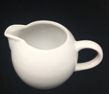 Miniature Creamer BIA Cordon Bleu Classic White Smooth Brazil Tiny Ceramic