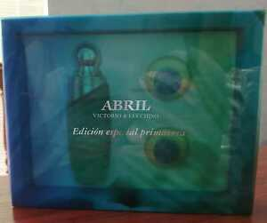 SET ABRIL VICTORIO & LUCCHINO 100 ML+ 2 SAVON PERFUME EDITION ES. PRIMAVERA  EDT