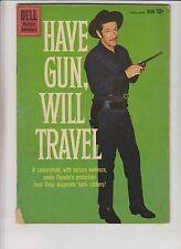 Have Gun, Will Travel #5 GD june 1960 - silver age dell comics western - paladin