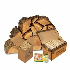 Oak Starter Kit. Kiln Dried Logs, Kindling, Firelighters and Matches.