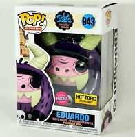 Funko POP Flocked EDUARDO Fosters Home for Imaginary Friends Hot Topic Exclusive