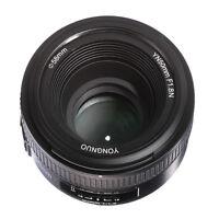 Yongnuo YN50mm F1.8 AF/MF Auto/Manual Focus Lens Objektiv Für Nikon D750 D7200