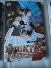 Tokyo Underground, Tome 4 Akinobu Uraku TAIFU MANGA FANTASTIQUE SCIENCE FICTION