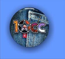 10cc - Large Button Badge - 58mm diam.