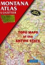 Atlas and Gazetteer: Montana Atlas and Gazetteer by DeLorme Map Staff (1999,...