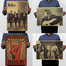 Music Rock Poster Decorative Painting Band Stars Picture Retro Vintage