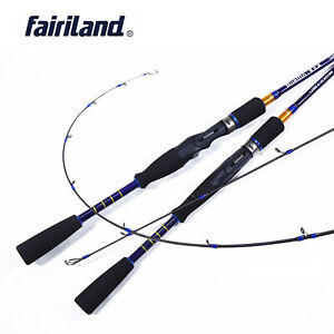 6.6'/7.0' Portable Casting Spining Rod Carbon Fiber Outdoor Travel Fishing Poles
