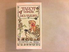RARE JEU DE CARTES / TAROT DES FLEURS / DUSSERRE / NEUF SOUS CELLO