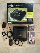 SNK NEO-GEO CD Console Japanese System With Box + Controller & NeoGeo Games