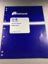Fiat Allis 11-B Crawler Tractor (Direct Drive) Engine Clutch Service Manual