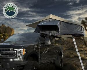 Nomadic 4 Ext. Roof Top Tent Gray Body, Green Rain Fly LOADED + FREE Bonus Pack