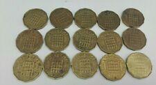 More details for 3 pence elizabeth ii 1953-1967 15 coin set