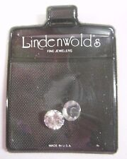 Vintage Loose Lot Lindenwold's Fine Jewelers Simulated Diamond Stones Gemstone