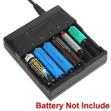 Smart Charger for AA AAA 18650 18500 18350 17670 16340 14650 Li-ion Battery