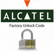 Alcatel Factory Unlock Code MTK devices Only