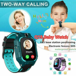 Android IOS Anti-lost Kids Smart Watch LBS Tracker SOS Call GSM SIM Child Gifts
