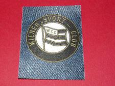 PANINI FOOTBALL 1978 ECUSSON JEAN DENIM WIENER SPORT CLUB WSC ÖSTERREICH WIEN
