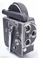 ✅ BOLEX H16 16MM MOVIE C-MOUNT CINE CAMERA PAILLARD FOR PARTS OR REPAIR