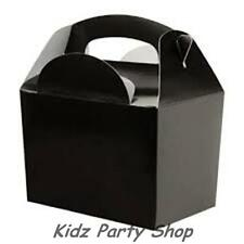 50 BLACK PARTY FOOD LOOT BOX CHILDREN BIRTHDAY PARTY