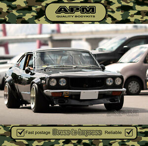 Quality APM Fender Guard Flares for Datsun RX-2/RX3/RX4 2 Door/1200/620 Ute/837