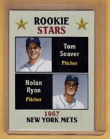 Rookie Stars Tom Seaver & Nolan Ryan '67 New York Mets, Fan Club serial # /300