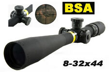 BSA 8-32x44 AO Riflescope 30mm Tube Diameter Mil-Dot Scope Professional Hunting