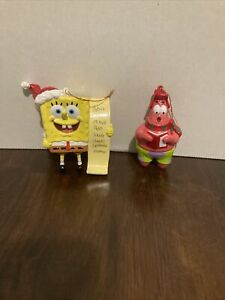 Spongebob / Patrick Christmas Ornaments