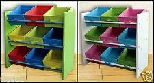 Kinderregal Kinder Zimmer Regal Spielzeug Bunt Schrank Kiste Moebel Kinder