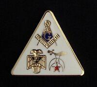 Masonic / Scottish Rite/ Shrine Lapel Pin (MSR-1)