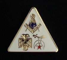Masonic / Scottish Rite/ Shrine Lapel Pin (MSR-1)