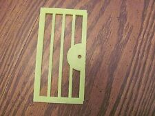 Vintage Playskool Lock Up Zoo replacement piece door