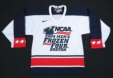 NWOT 2004 NCAA Mens Frozen Four Boston NIke Team Red White Blue Hockey Jersey S
