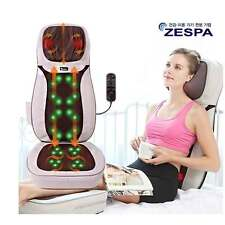 ZESPA Portable Powerful Shiatsu Massage Cushion Body Rolling Up 8in1 ZP-854 Heat