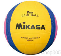 Mikasa Official FINA Olympic Water Polo Game Ball Women's size 5 W6009W
