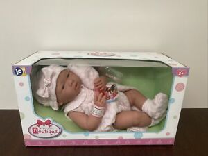 JC Toys, La Newborn 15 inch Anatomically Correct Real Girl Baby Doll Pink Outfit