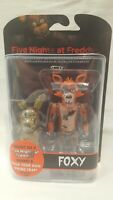 "2016 FUNKO POP FIVE NIGHTS AT FREDDY'S "" FOXY "" ARTICULATED ACTION FIGURE NEW"