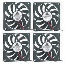 4X 80mm x 10mm Cooling Case Fan 8010 2pin 80x80x10mm DC for PC Computer A541