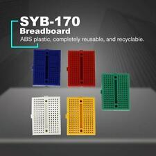 10Pcs Mini Circuit Universal Solderless DIY Testing Breadboards ABS Electric NEW
