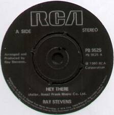 """RAY STEVENS~HEY THERE / NEVER GOIN' TO TAMPA WITH ME~1980 UK 7"""" SINGLE [Ref.1]"""