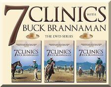 7 Clinics with Buck Brannaman, Complete DVD Set:Discs 1–7 - BRAND NEW
