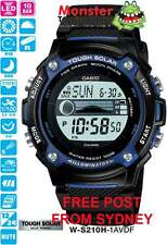 AUSSIE SELLER CASIO WATCHES W-S210H-1AVDF W-S210 WS210 FISHING 12-MTH WRTY