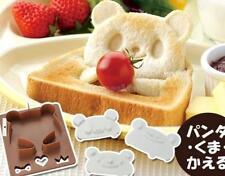 Set of Panda Frog Bear Shapes Sandwich Cutter Mold Bread Toaste Mould Maker DIY