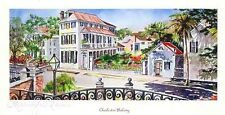 """Charleston Balcony"" Historic Charleston water color prints Birthday/Anniversary"
