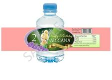 Tinkerbell Water Bottle Wrappers - Birthday Party Favors - Set of 12